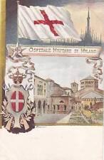 9778) CROCE ROSSA, OSPEDALE MILITARE DI MILANO.