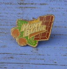 Pin's mini Mont Blanc, début des années 1990