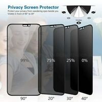 5D Privacy Tempered Glass Screen Protector For iPhone 12 Pro Max 11 XR XS Cover