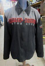 Harley Davidson Men's Garage Jacket Large L 97424-08VM Black/Gray