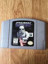 Star Wars: Shadows of the Empire Nintendo 64 N64 Game Cart Works NG1