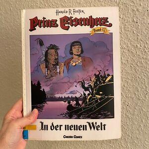 PRINZ EISENHERZ CARLSEN Nr.12 Genähtes!! Bücherei-Comic ALETA AMERIKA+GEBURT ARN