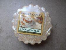 Yankee Candle Usa Rare Cinnamon Roll Wax Tart