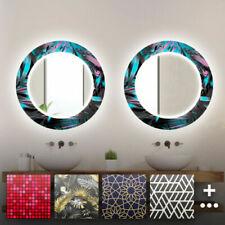Espejos decorativos redondos sin marco para el hogar