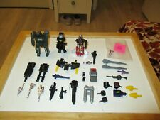 Transformers G1 & Go-Bots-He Man & Other Unknown  Parts & Weapons Lot # 3