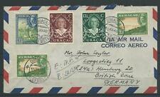 Curacao Luftpost-Brief nach Hamburg, 1948