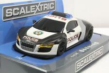 Carrera Digital 132 SEC3932 Audi R8 Police Car 1/32 Slot Car