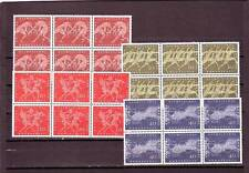 GERMANY/WEST - SG1246-1249 MNH 1960 OLYMPIC YEAR - BLOCKS OF 6