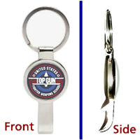 Top Gun Movie Weapons Training Pendant or Keychain metal secret bottle opener
