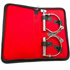 Bondage Ankle Shackles Sensual Desire Heavy Duty Stainless Steel Erotic Dungeon