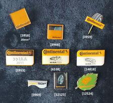 CONTINENTAL (Reifen) Pins + Anstecknadeln verschiedene Abzeichen AUSSUCHEN