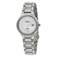 Seiko Women's Analog Display Quartz Silver Watch SUT207