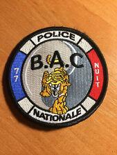 PATCH POLICE NATIONALE FRANCE - BAC 77 UNIT