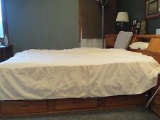 Guess Home Bed Skirt Bedskirt Cream Queen
