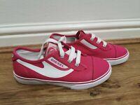 Diesel Pink / White Trainers Girls UK Size 2 No Box Ex Display New
