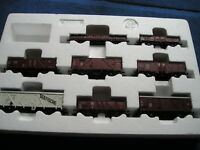 Roco 8 teiliges H0 DB  Güterwagen Set 44002         (76)