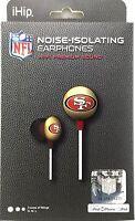 NFL San Francisco 49ers Ear Buds Headphones-ihip