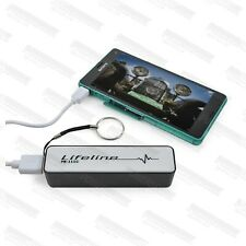 External battery powerbank mobile portable charger Iphone Samsung HTC 2600mAh