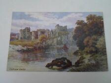 A R QUINTON Postcard 1383 CHEPSTOW CASTLE    §A2890