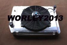 Aluminum radiator shroud fan FALCON XA/XB/XC/XD/XE FAIRMONT CLEVELAND 302/351 V8