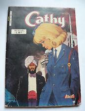 Livre roman ancienne BD série CATHY Shirley et le Mystère du Sahara années 60-80