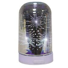 3D Firework Air Diffuser LED Ultrasonic Essential Oil Aroma Humidifier Purifier