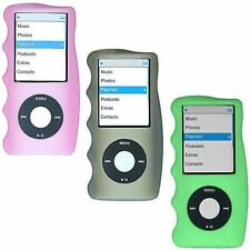 3-Pack Hand Grip Silicone Sleeve for 4th Generation iPod Nano