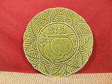 """Bordallo Pinheiro China Green Tomatos Plate 9 1/2"""""""