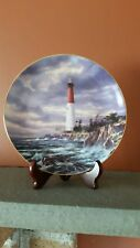 "Danbury Mint Lighthouse Plate "" Shoreline Sentry"" Guardians of the Coast"