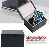 Keyless Car Key Signal Shielding Blocker Box Faraday Box Anti Theft Safety Box