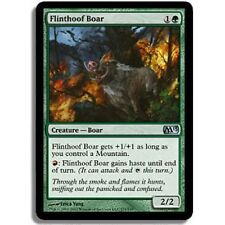 x1 Sanglier piedesilex (Flinthoof Boar) M13 VO MAGIC MTG ~