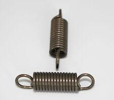 2 Zugfedern, Federn, Einhänge-Länge 38mm, Außen Ø10mm, Draht Ø 1,5mm
