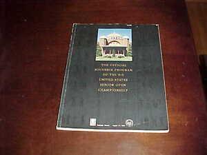 1988 PGA Senior Open Championship Golf Program Gary Player Winner Medinah