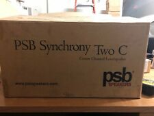 PSB Synchrony Two C center Speaker, Black