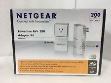 BRAND NEW NETGEAR Powerline AV+ 200 Adapter Kit XAVB2501 NIB