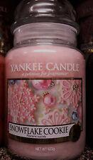 Yankee Candle Snowflake Cookie 623 gr. - Winteraktion