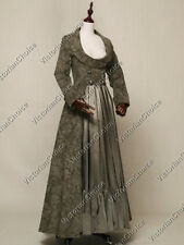 Edwardian Gothic Victorian Military Steampunk Punk Halloween Costume N C058 XXL