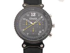 D&G orologio Rhythm acciaio PVD nero ref. DW0306 new
