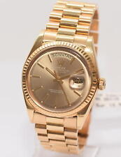 original Rolex Day Date Gold Ref.1803 Papiere Box von 1975