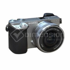 Sony ILCE-6000 Alpha a6000 6000L Silver+16-50mm Lens Kit