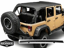 Extended Bikini Top with Windshield Channel 07-18 Jeep Wrangler Unlimited JK