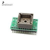 Universal Converter PLCC28 to DIP24 EZ Programmer Adapter Socket IC Test Socket