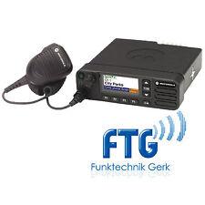 Motorola DM4600e, UHF403-470 MHz, Std.-Mikro, Halterung,Kundenspezifische Progr.