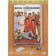 The Royal Tenenbaums DVD BRAND NEW TOP 1000 FILM Gene Hackman Gwyneth Paltrow R4