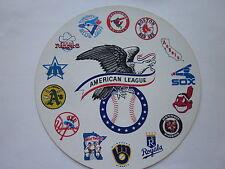 "American League Baseball MLB 5.25"" Round Sticker"