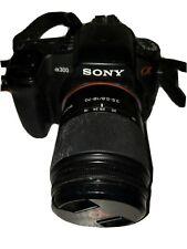 Sony Alpha DSLR-A300 10.2MP Digital SLR Camera w/ DT 18-70mm Lens! LCD SCREEN B