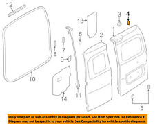 NISSAN OEM 13-18 NV200 Back Door-Shell Protector 90446JX50B
