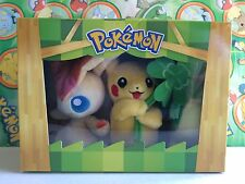 Victini Snivy Pikachu Tohoku Plush Set Pokemon Center Anniversary Poke Doll Lot