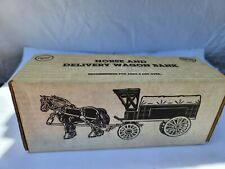 ERTL HORSE AND DELIVERY WAGON BANK