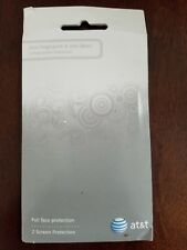 NEW AT&T CaseMate Screen Protector for iPhone 4 anti fingerprint & glare 2 PACK
